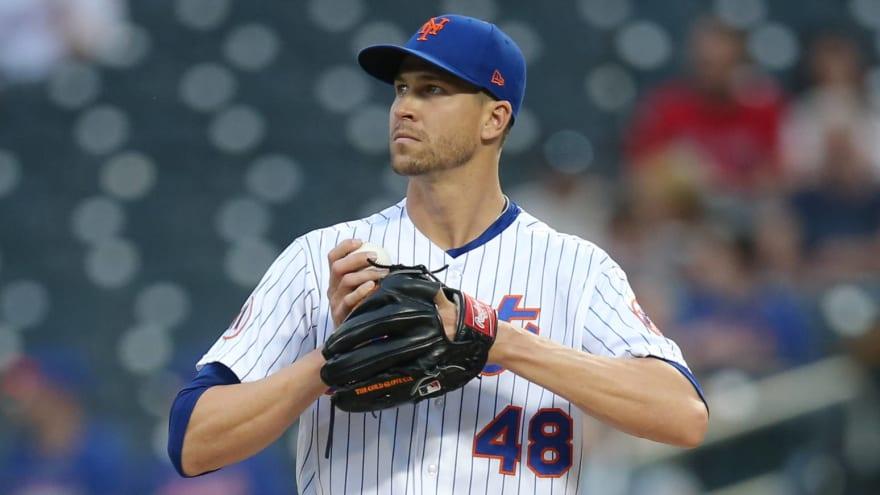 Mets ace deGrom on track to return Sunday vs. Diamondbacks