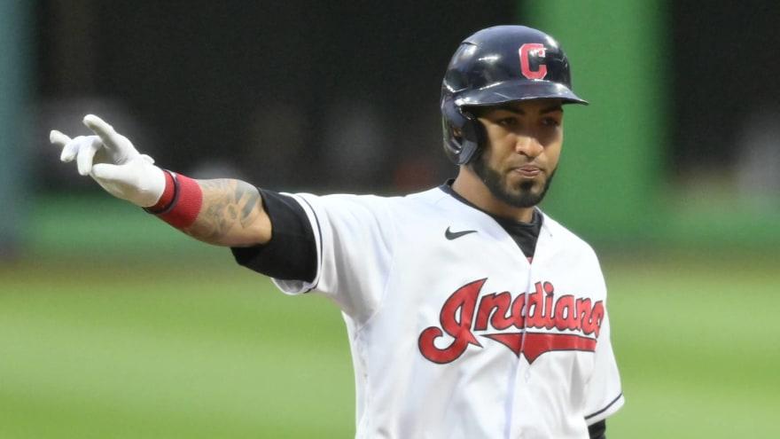 Braves acquire Eddie Rosario from Cleveland