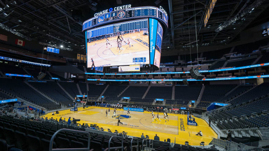 Warriors to welcome fans back to Chase Center April 23