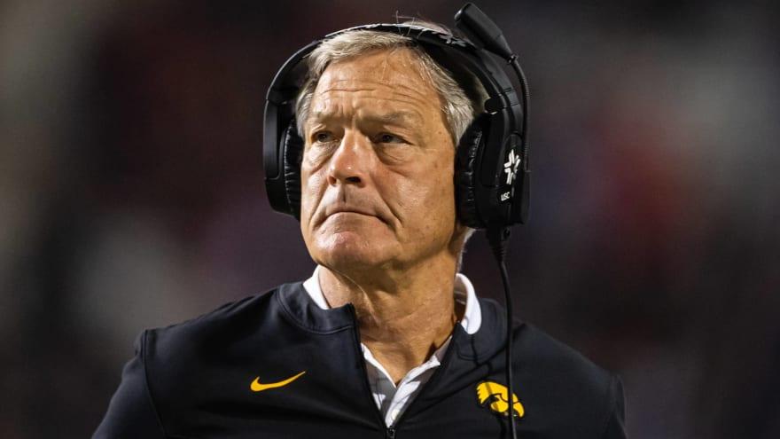 Kirk Ferentz: Iowa fans 'smelled a rat' with PSU injuries
