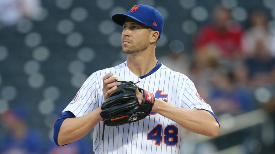 Mets' Jacob deGrom scratched from Tuesday's start
