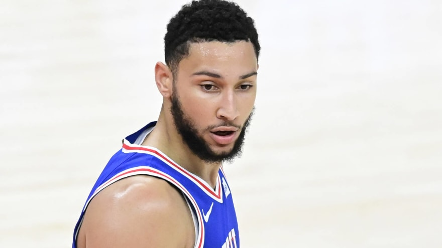 Ben Simmons makes surprise return to Sixers camp
