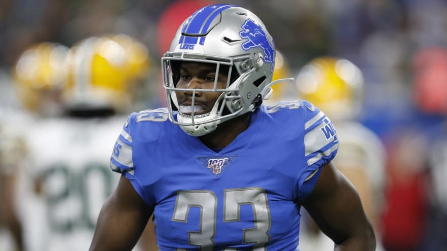 Eagles claim RB Kerryon Johnson off waivers