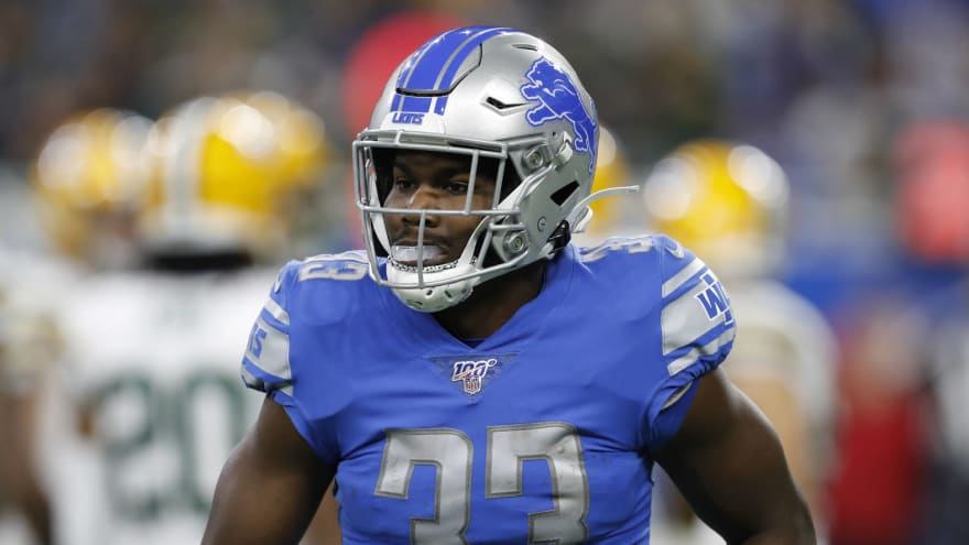 Lions GM: Situation with Kerryon Johnson 'a work in progress'