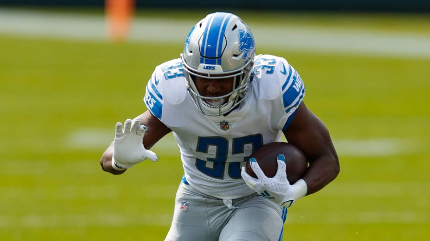 Dolphins tried to claim Kerryon Johnson