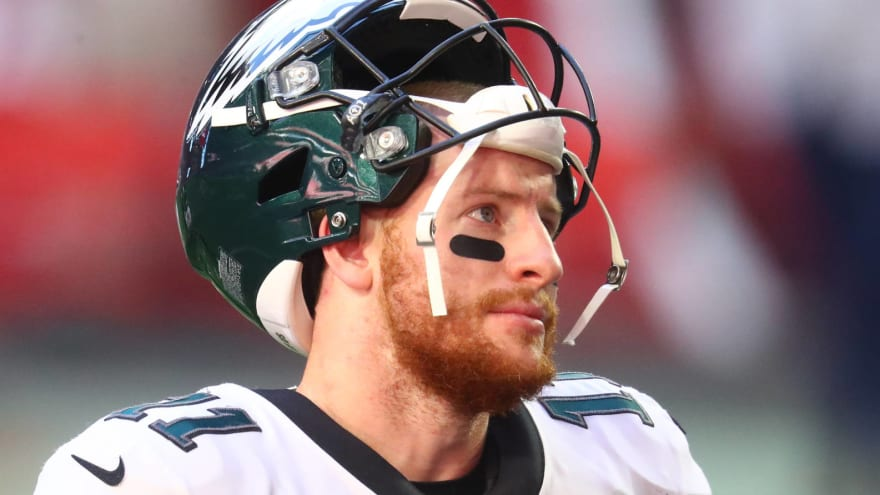 Frank Reich: Drafting Hurts didn't send Wentz into 'tailspin'