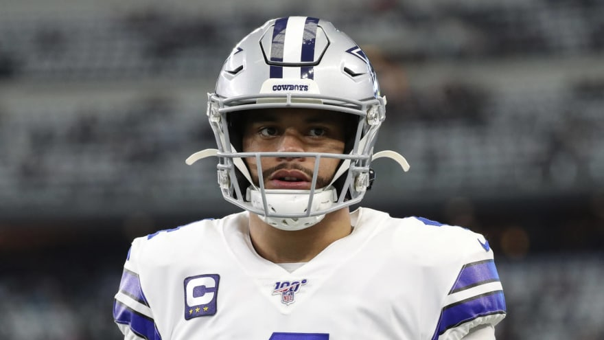 Cowboys' McCarthy has encouraging update on Dak's recovery