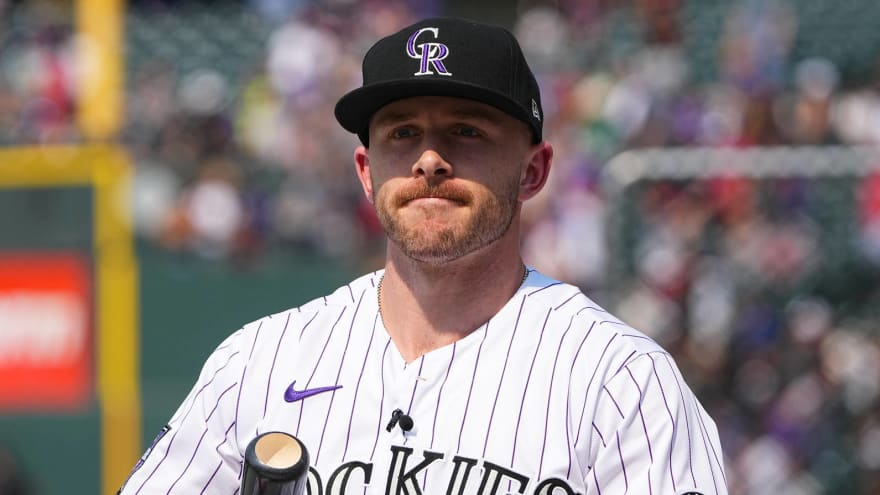 Yankees interested in Rockies SS Trevor Story