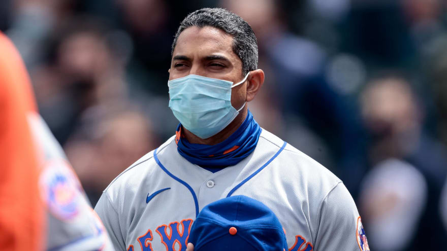 Report: Mets manager Luis Rojas 'safe' for now