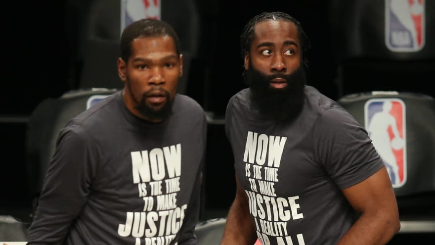 Harden opens up about reunion with Durant