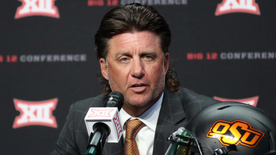 Oklahoma State says investigation found no signs of racism from Mike Gundy