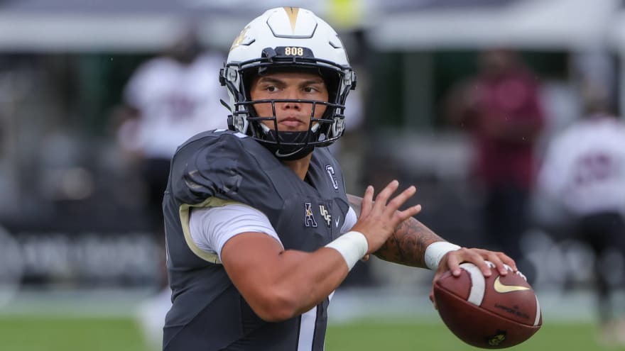 UCF QB Gabriel out indefinitely after suffering fractured clavicle