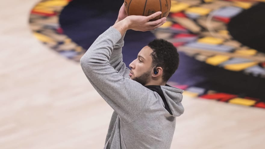 76ers have plan to help Ben Simmons improve his shooting
