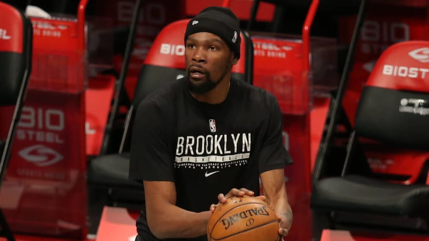 Durant out through All-Star break with hamstring injury