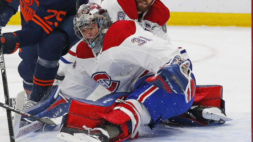 Carey Price in concussion protocol, out at least a week