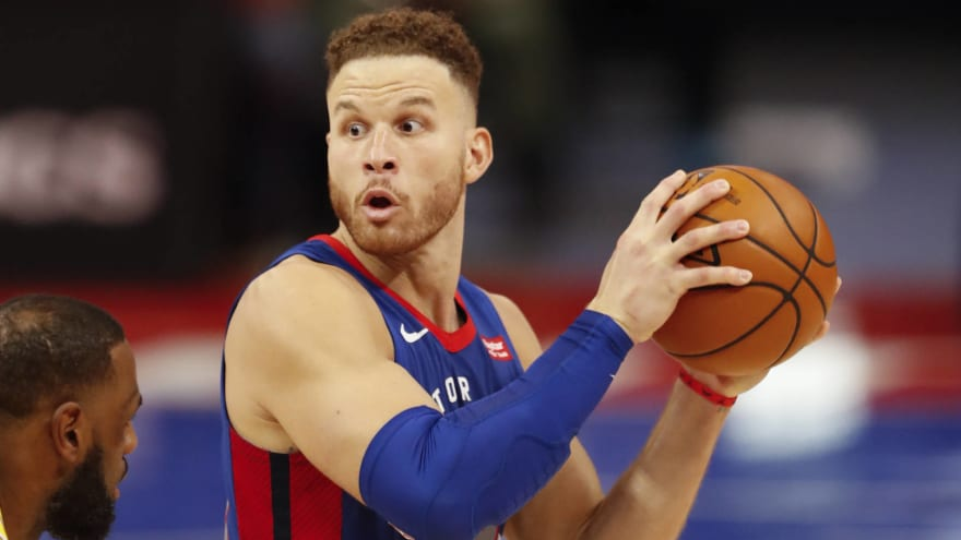 Pistons, Blake Griffin agree to buyout