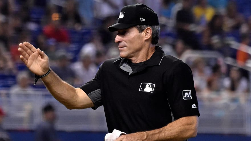 Video shows how many calls Angel Hernandez blew