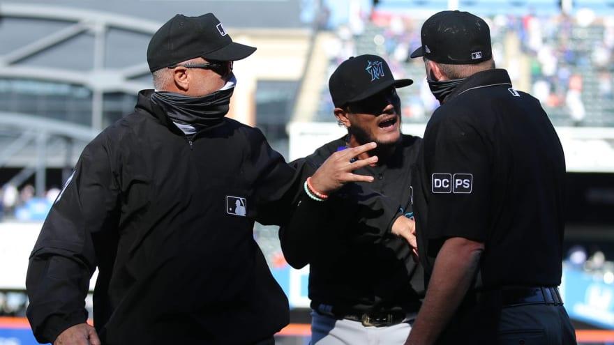 Umpire admits he blew call in Mets' win vs. Marlins