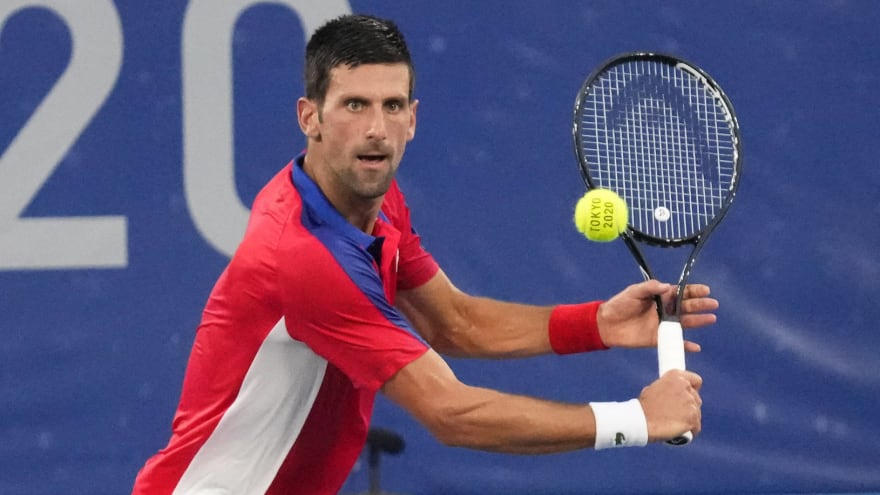 Djokovic threw racket, had outbursts during Olympic loss