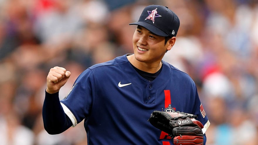 Ohtani donated his HR Derby winnings to Angels staffers
