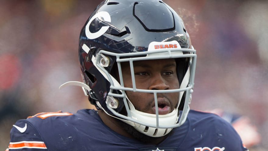Eddie Goldman an unexcused absence from Bears' mandatory minicamp