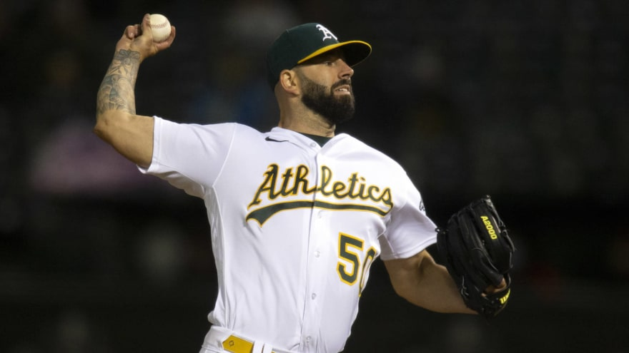 Mike Fiers out at least another month, doesn't need surgery