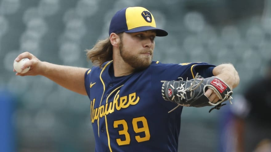 Corbin Burnes likely out for season with strained oblique
