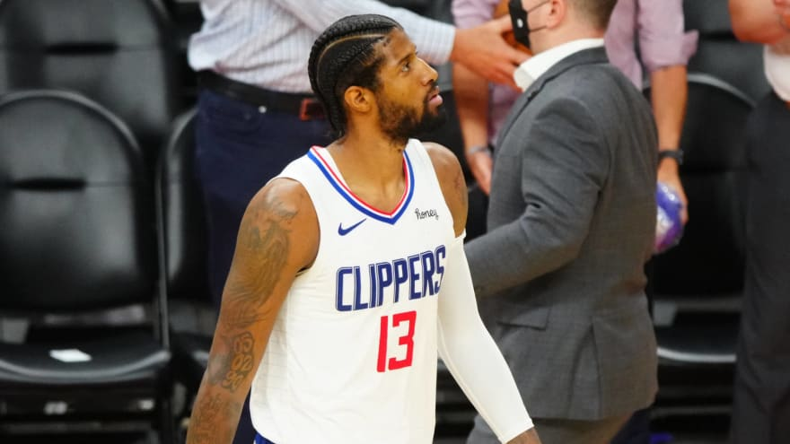 Clippers' George ready to move on from Game 2 loss to Suns