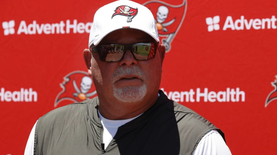 Bruce Arians expects Bucs to be 92% vaccinated by Aug. 13