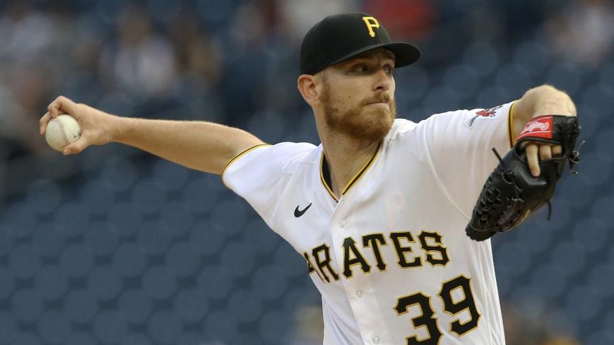 Pirates place Chad Kuhl on COVID list, select Shea Spitzbarth