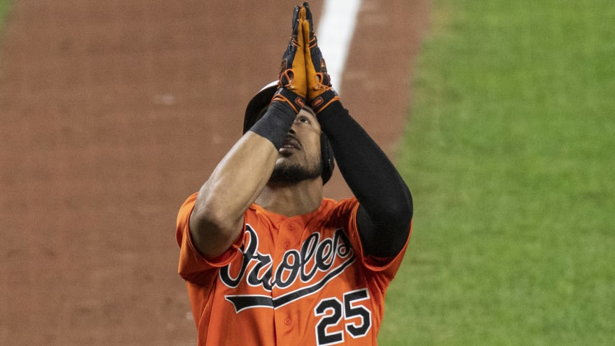 Report: Marlins, Orioles discussing Anthony Santander trade