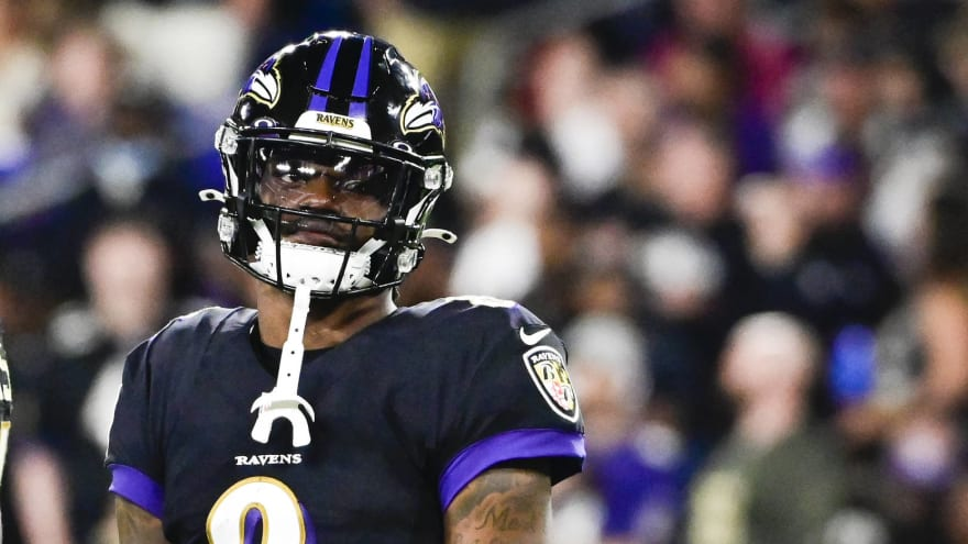 Ravens fall short of rushing record in win over Colts
