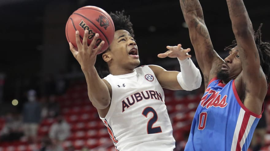 Knicks interested in drafting Auburn's Sharife Cooper?