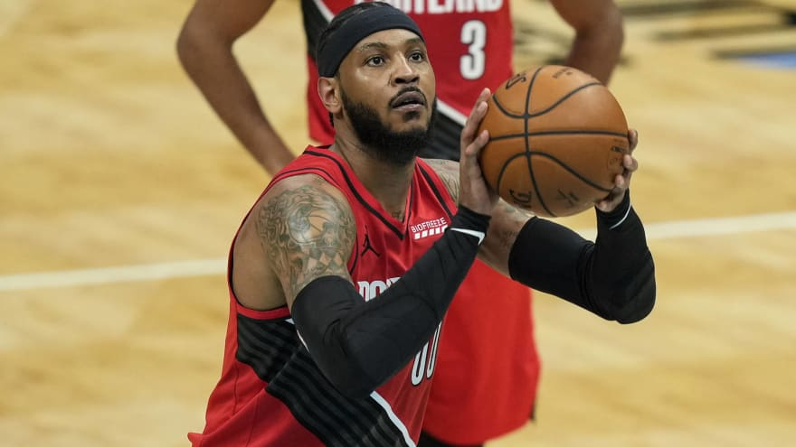 Melo discusses decision to not re-sign with Blazers