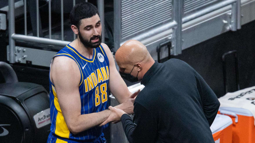 Pacers suspend Foster, fine Bitadze for altercation