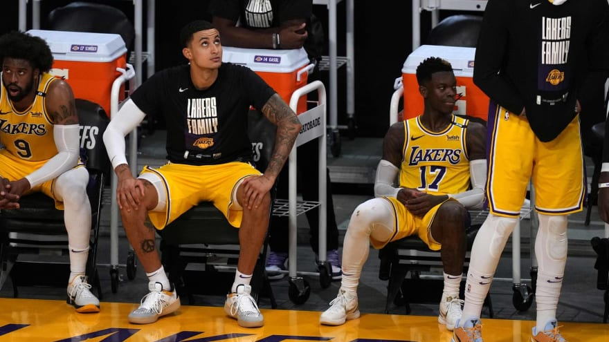 Lakers' Schroder, Kuzma reportedly 'feuded' throughout season