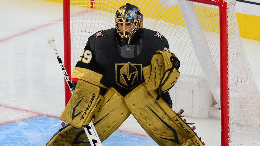 Golden Knights trade Marc-Andre Fleury to Blackhawks