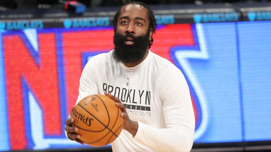Nets' Harden out indefinitely after latest hamstring setback