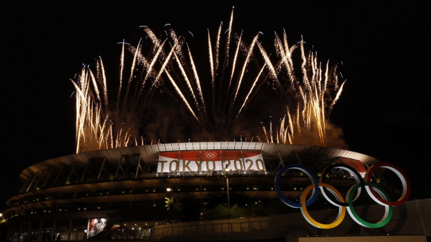 Amazing Opening Ceremony drone display goes viral
