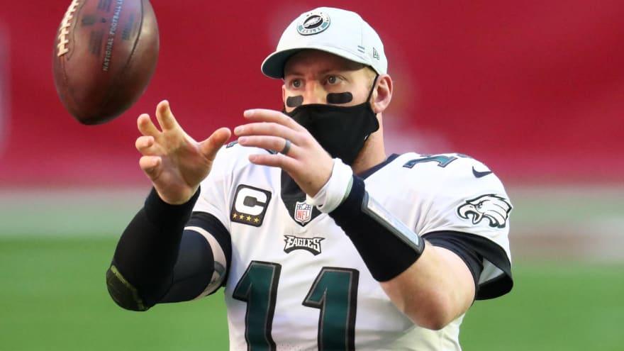 Eagles unhappy with outcome of Carson Wentz trade?