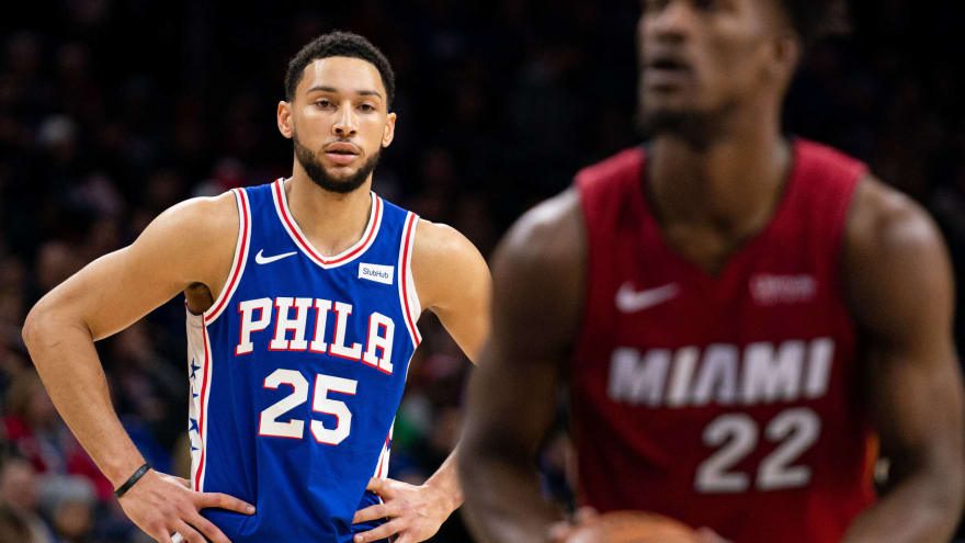 Ben Simmons helped push Jimmy Butler out of Philadelphia?
