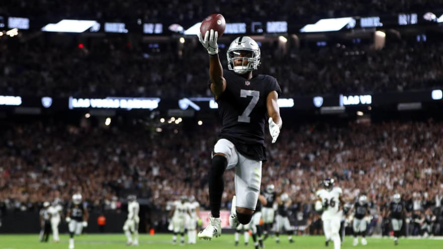 Raiders come back after blowing goal-line chance to win in OT