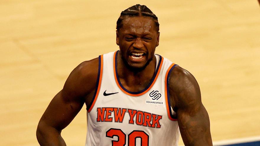 Julius Randle says he's 'damn proud to be a Knick'