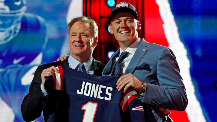 Report: Pats weren't willing to trade up to draft Jones
