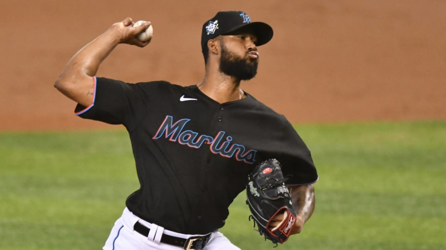 Marlins set rotation for first three games of NLDS