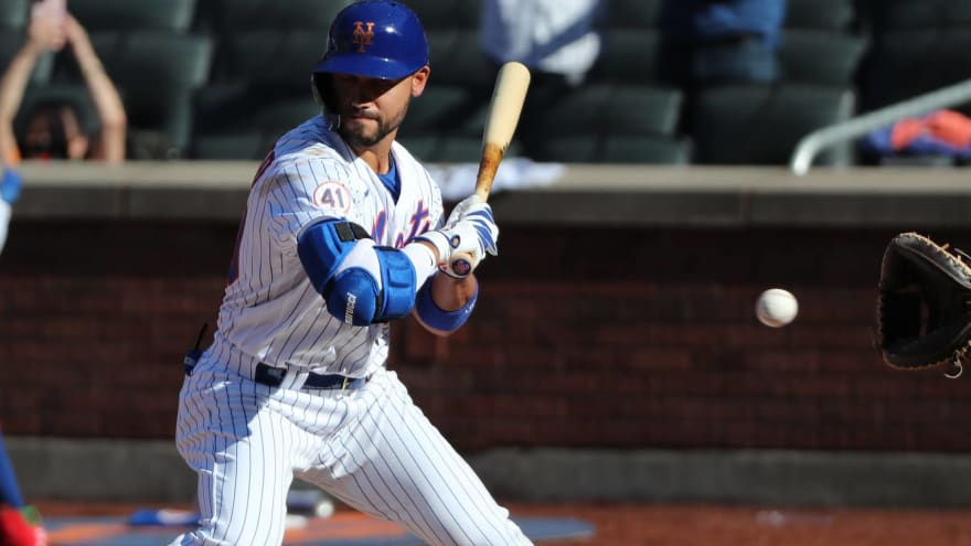 Controversial HBP call gifts Mets walk-off win over Marlins