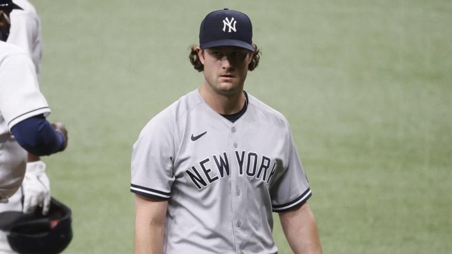 Yankees ace Gerrit Cole doesn't deny doctoring baseballs