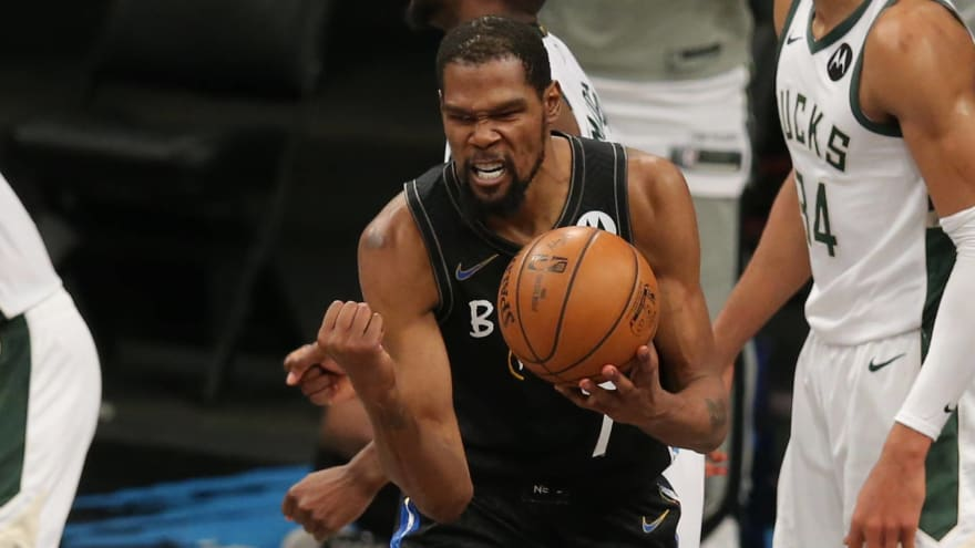 Giannis: Durant is the best player in the world right now