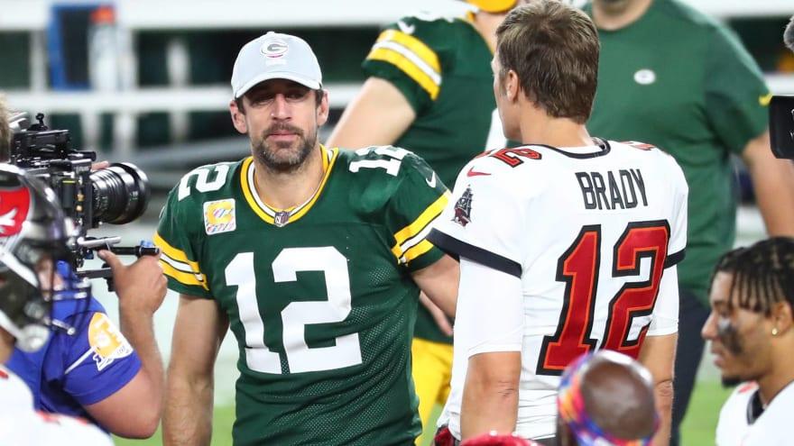 Report: Rodgers following Brady's 'TB12 Method'