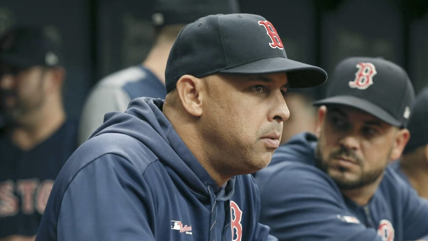 Alex Cora fired as manager of the Red Sox